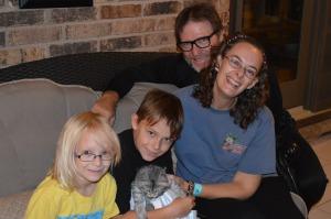 A beautiful, loving family for Talya.