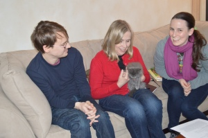 Smokey with Tom, Mary Lou and Katherine