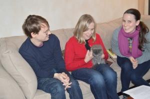 Smokey with Tom, Mary Lou and Katherine
