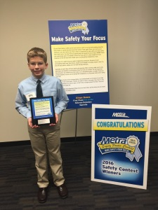 Congratulations, Ethan!